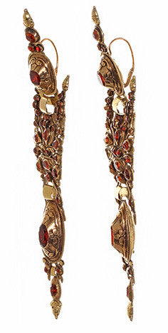 Iberian Hessonite Garnet Earrings