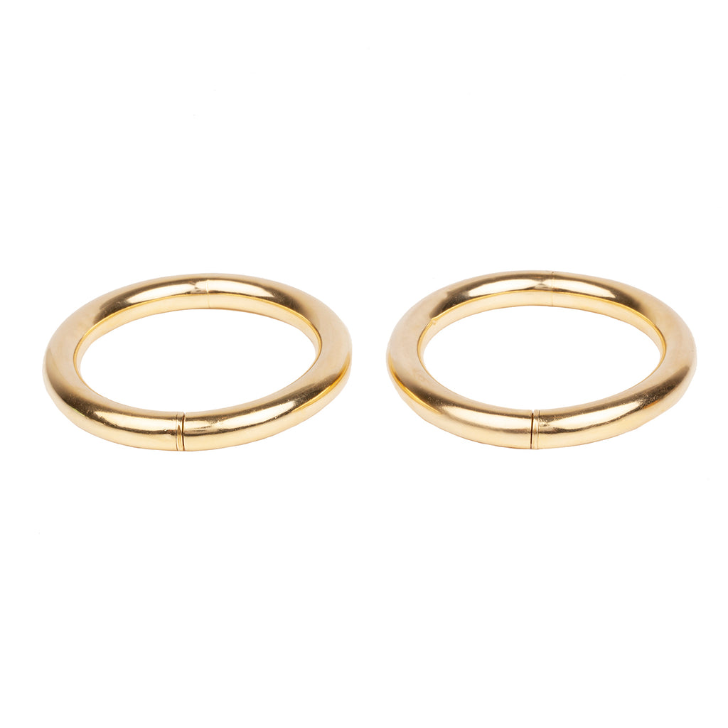 Vintage Pair of Gold Bangles