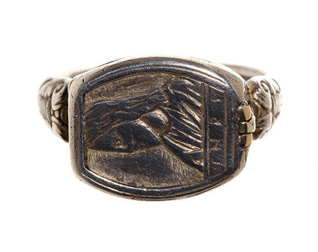 19th Century Compass & Sundial Ring