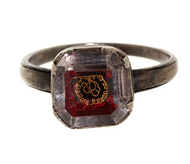 18th Century Stuart Crystal Ring
