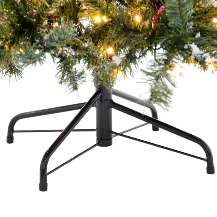 folding christmas tree base stand