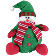 front view of snowman novelty figure christmas decoration