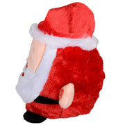 side view of plush santa music decoration