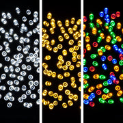 USB christmas lights in warm white, bright white or multi colour options