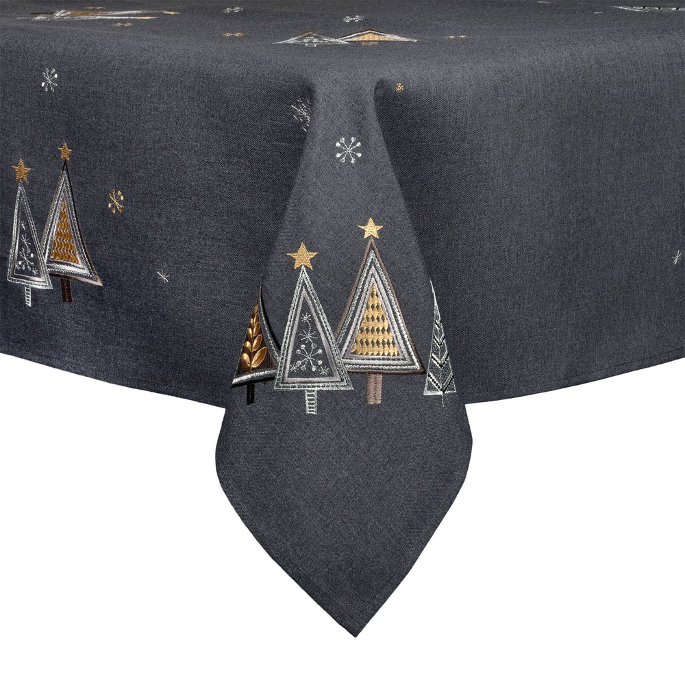 Mr Crimbo Christmas Tree Embroidered Dining Tablecloth