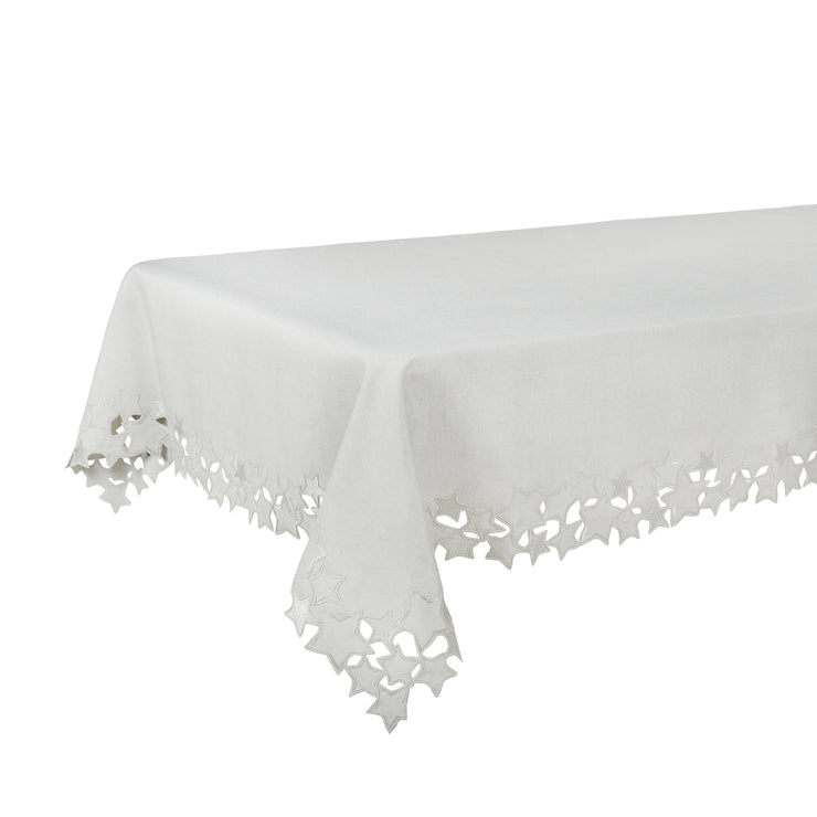 "52 x 90"" tablecloth on table"
