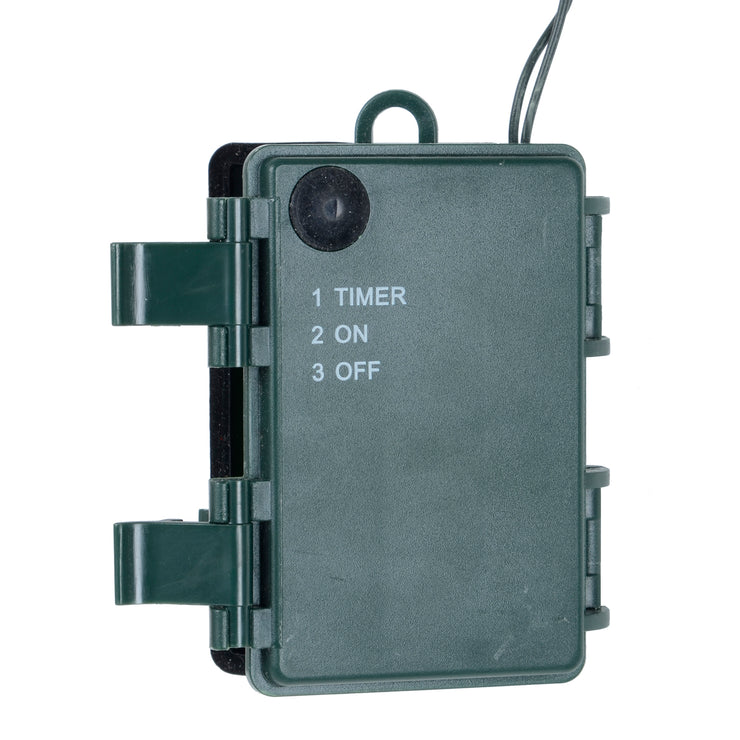 battery compartment with timer function