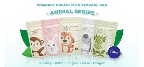 Compact Breastmilk Storage Bag Vita Flow