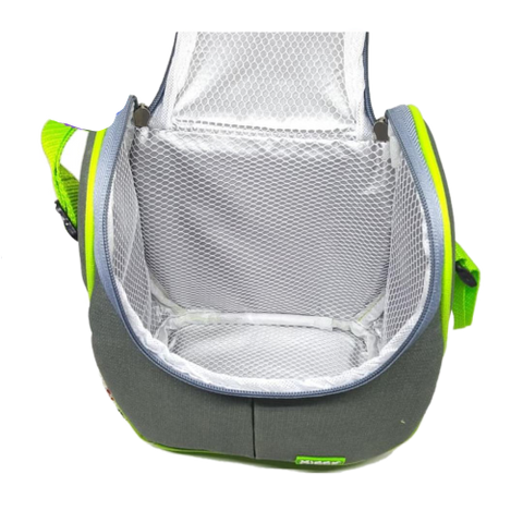 Inside Small Portable Breastmilk Cooler Bag Insulated