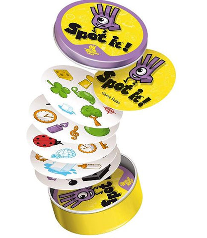 Spot it card games