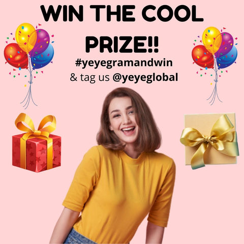 win yeye cool prize instagram monthly contest