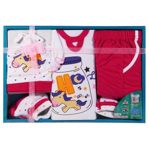 Baby Newborn Clothes Gift Set Box with Unicorn Design Color