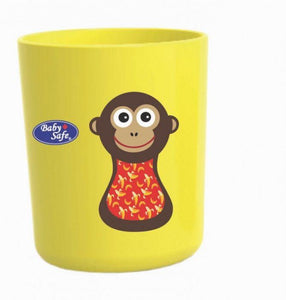 Baby Safe Tumbler Cup Monkey Design