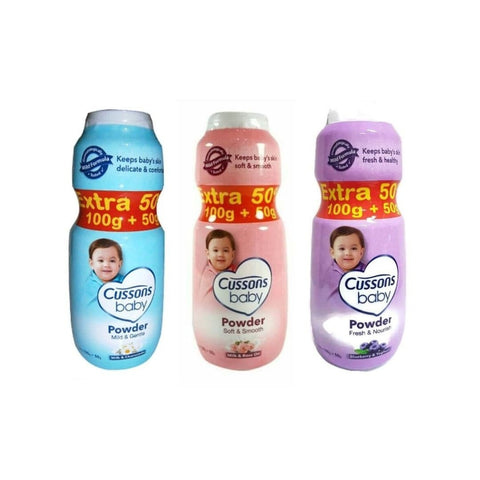 Cussons Baby Powder 100g Extra 50%
