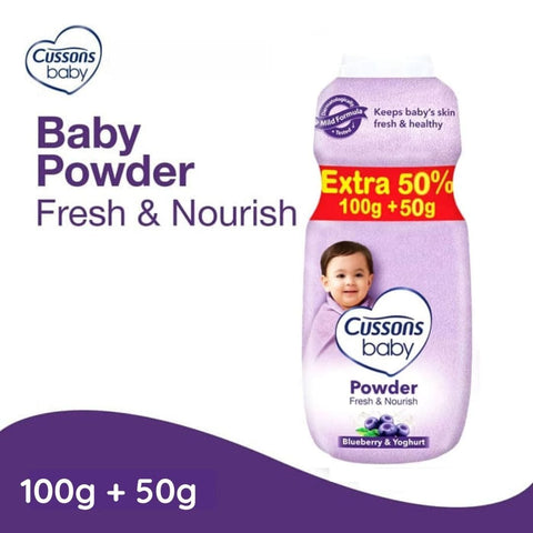 Cussons Baby Powder 100g + Extra 50% 50g