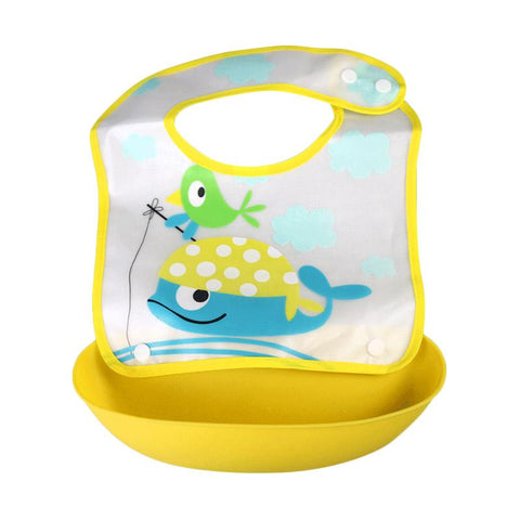 BabySafe Foldable Bib With Crumb Catcher