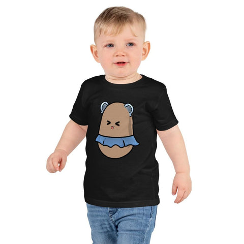 Image of Potato Kids T-Shirt 2-6 Years  (White, Black, Grey, Navy and Red)