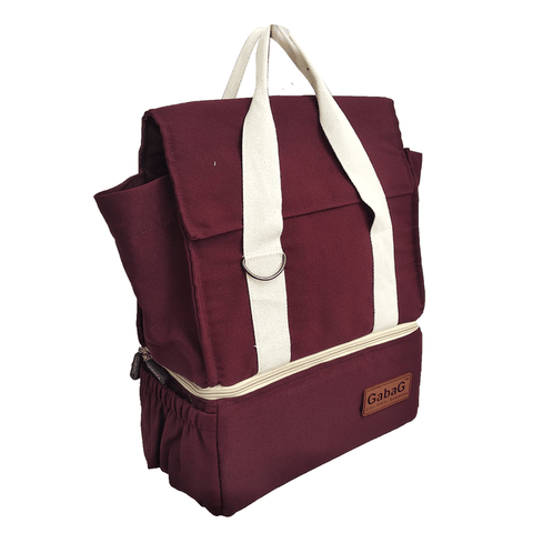 Sideview of Cooler Bag Gabag Rose