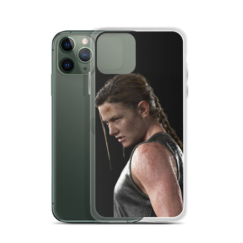 Image of Abby Fighting Mode TLOU 2 iPhone Case [The Last Of Us Part 2]