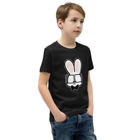 Bunny Youth T-Shirt (White, Grey, Black and Navy)