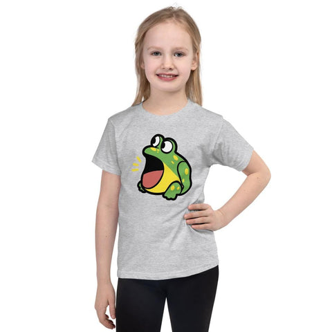 Image of Frog Kids T-Shirt 2-6 Years (White, Black, Grey, Navy and Red)