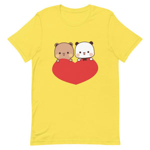Panda Bear Unisex Color T-Shirt