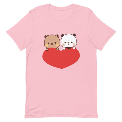Image of Panda Bear Unisex Color T-Shirt
