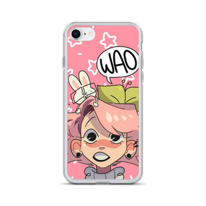 Cherri's Face iPhone Case (Pink)