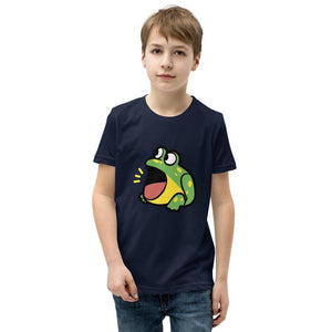 Frog Youth T-Shirt (White, Grey, Black and Navy)