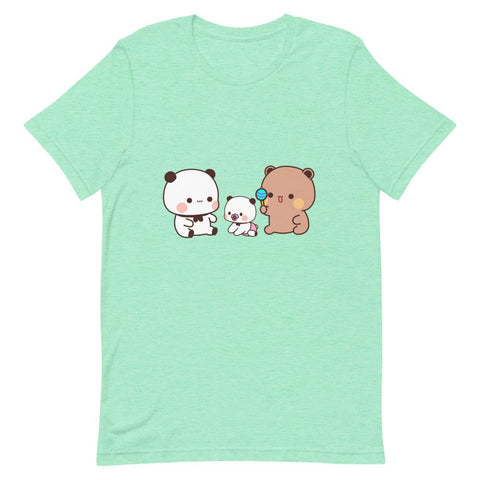 Image of Panda Bear's Baby Unisex Color T-Shirt