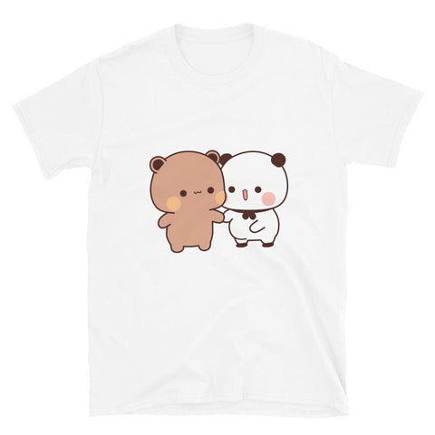 Panda Bear Couple Unisex T-Shirt