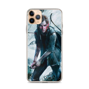 Ellie with Bow TLOU 2 iPhone Case [The Last of Us Part 2]
