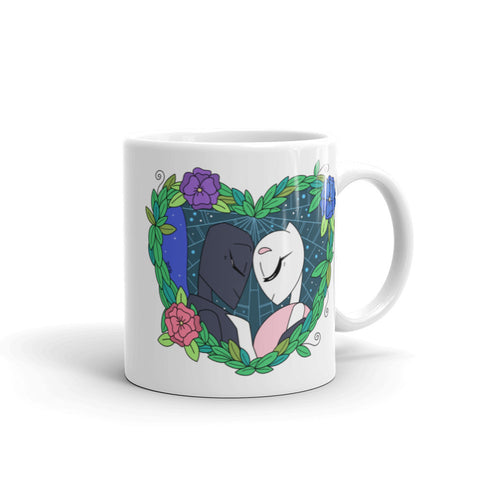 Spider and Butterfly Coffee Mug