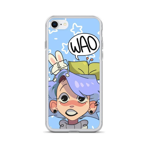 Cherri's Face iPhone Case (Blue)