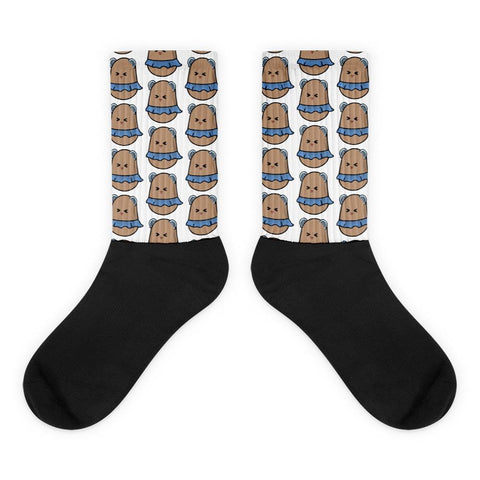 Potato Berry Pattern Socks