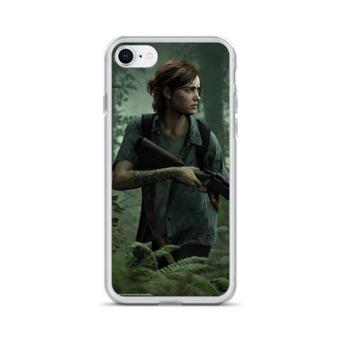 Image of Ellie with Gun TLOU 2 iPhone Case [The Last of Us Part 2]