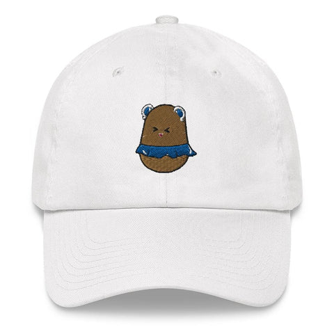 Image of Potato Berry Dad hat (White, Light Blue, Pink, Navy)