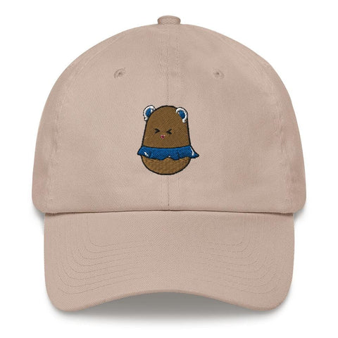 Potato Berry Dad hat (White, Light Blue, Pink, Navy)