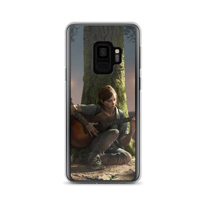 Ellie Playing Guitar TLOU 2 Samsung Case [The Last of Us]