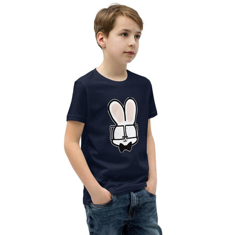 Image of Bunny Youth T-Shirt (White, Grey, Black and Navy)