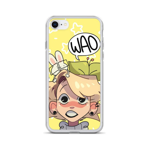 Image of Cherri's Face iPhone Case (Yellow)
