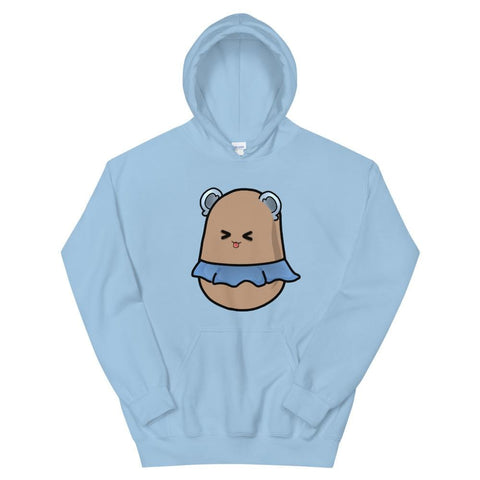 Potato Berry Unisex Hoodie (Blue, Pink, White & Grey)