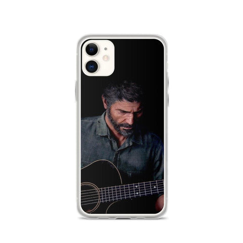 Joel Playing Guitar TLOU 2 iPhone Case [The Last of Us Part 2]