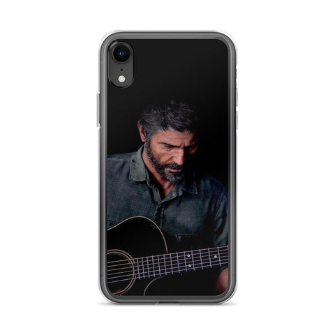 Image of Joel Playing Guitar TLOU 2 iPhone Case [The Last of Us Part 2]