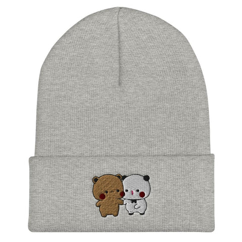 Panda Bear Couple Beanie