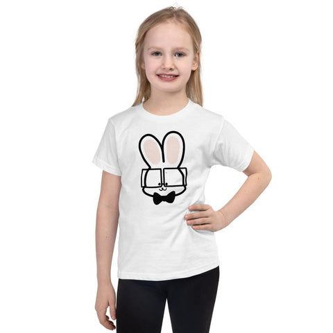 Image of Bunny Kids T-Shirt 2-6 Years (White, Black, Grey, Navy and Red)
