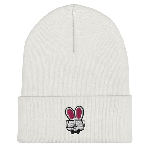 Image of Bunny Cuffed Beanie