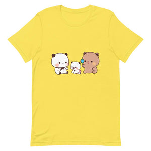 Panda Bear's Baby Unisex Color T-Shirt