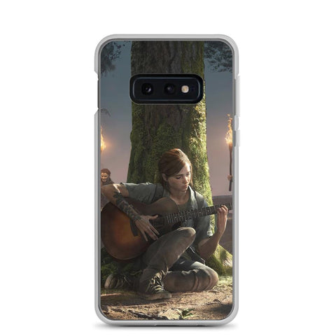 Image of Ellie Playing Guitar TLOU 2 Samsung Case [The Last of Us Part 2]