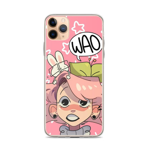 Image of Cherri's Face iPhone Case (Pink)